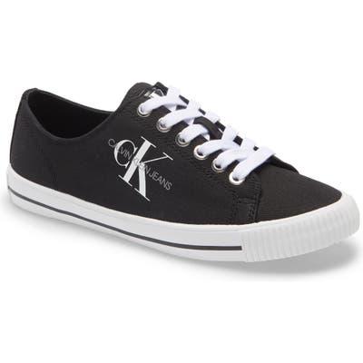 Calvin Klein Diamante Sneaker- Black