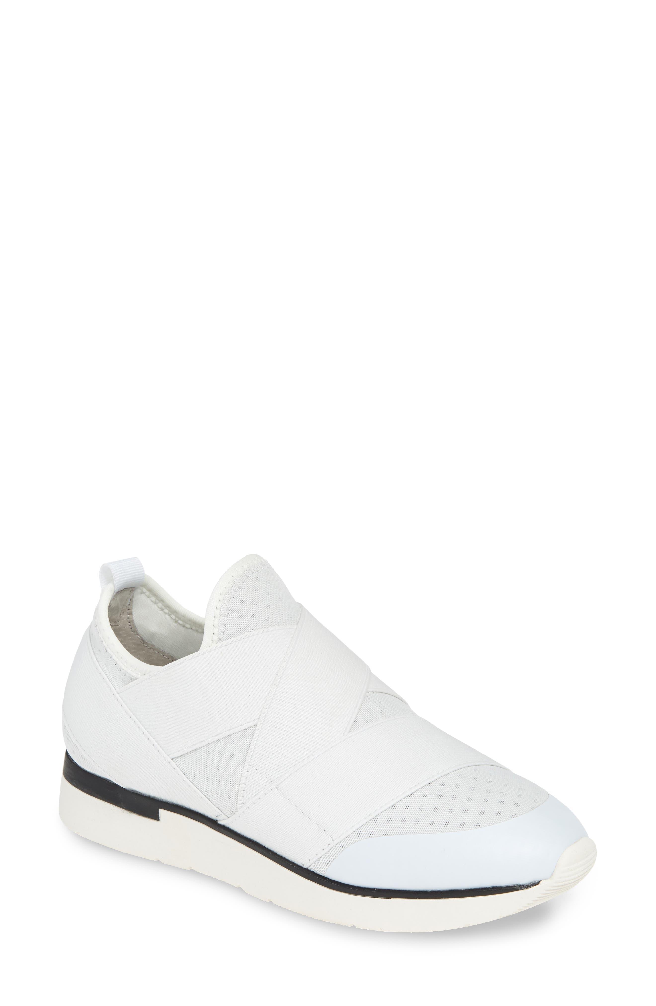 Jslides Ginny Slip-On Sneaker, White
