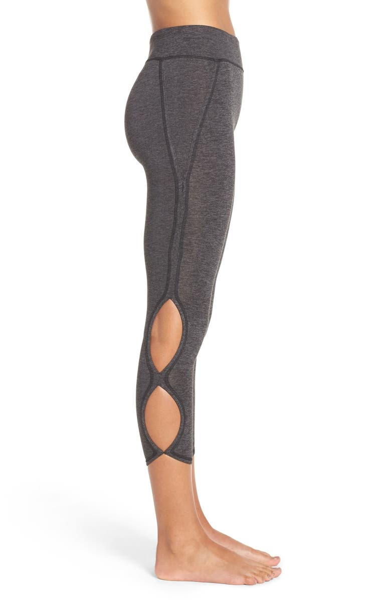 6b2bbdfa1c Free People Movement Infinity Cutout Crop Leggings | Nordstrom