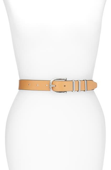 Image of Rag & Bone Jumbo Jet Leather Belt