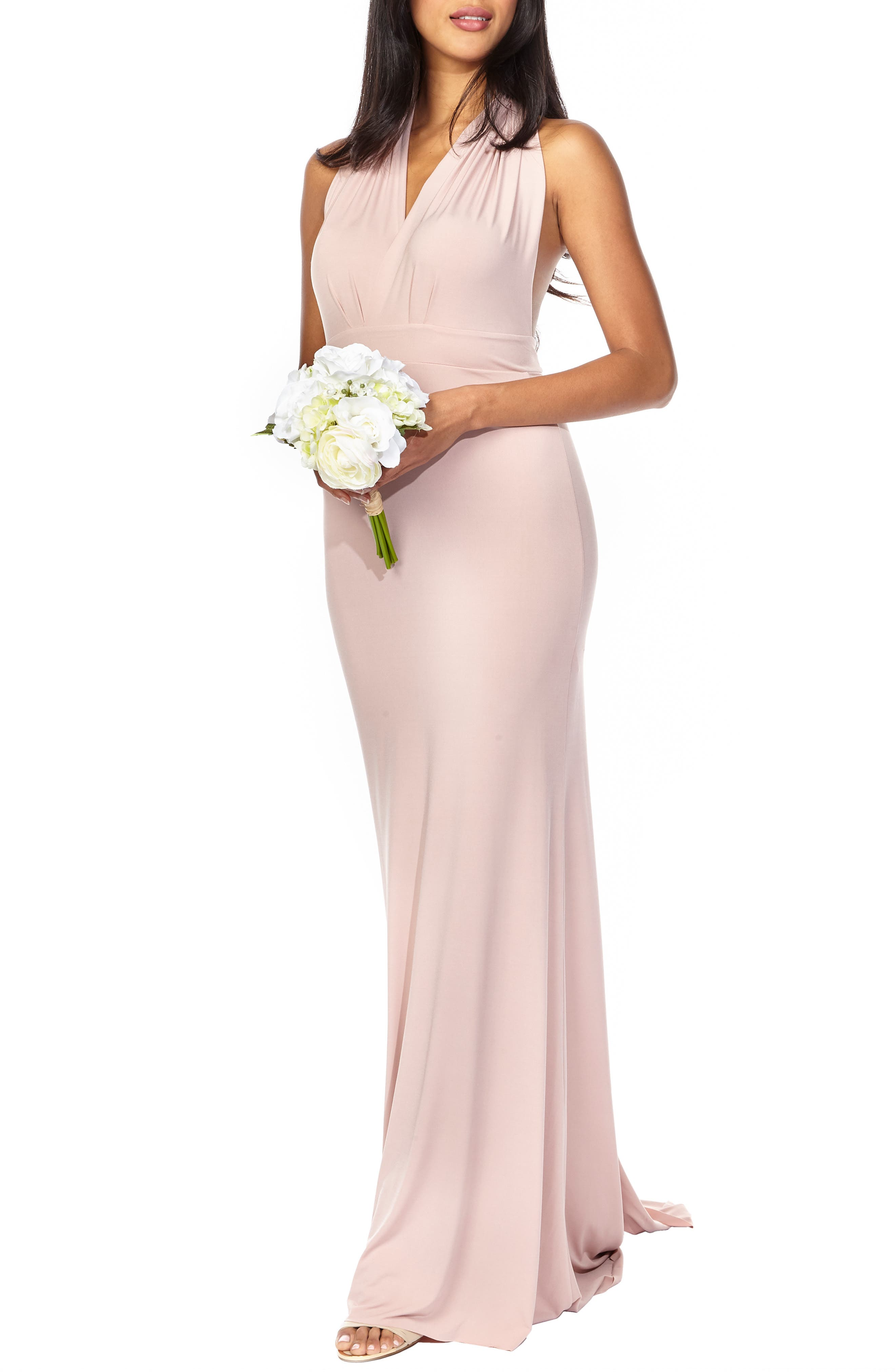 Tfnc Multiway Gown, Pink