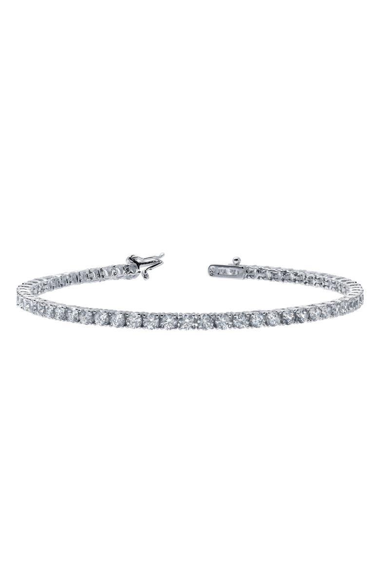 LAFONN Classic Simulated Diamond Tennis Bracelet, Main, color, 040
