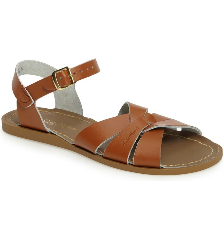 SALT WATER SANDALS BY HOY Original Sandal, Main, color, TAN