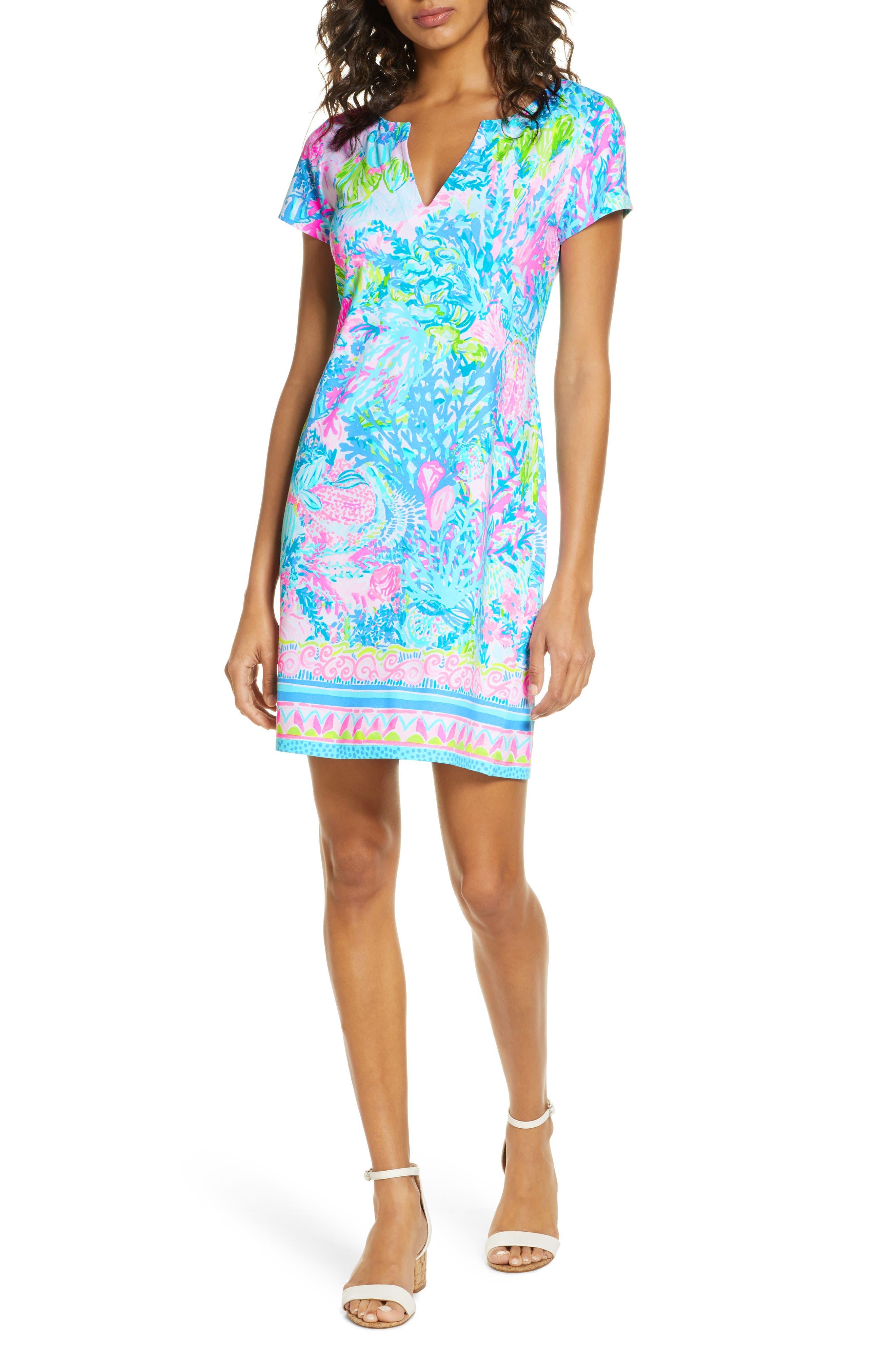 Women's Lilly Pulitzer Sophiletta Upf 50+ Shift Dress