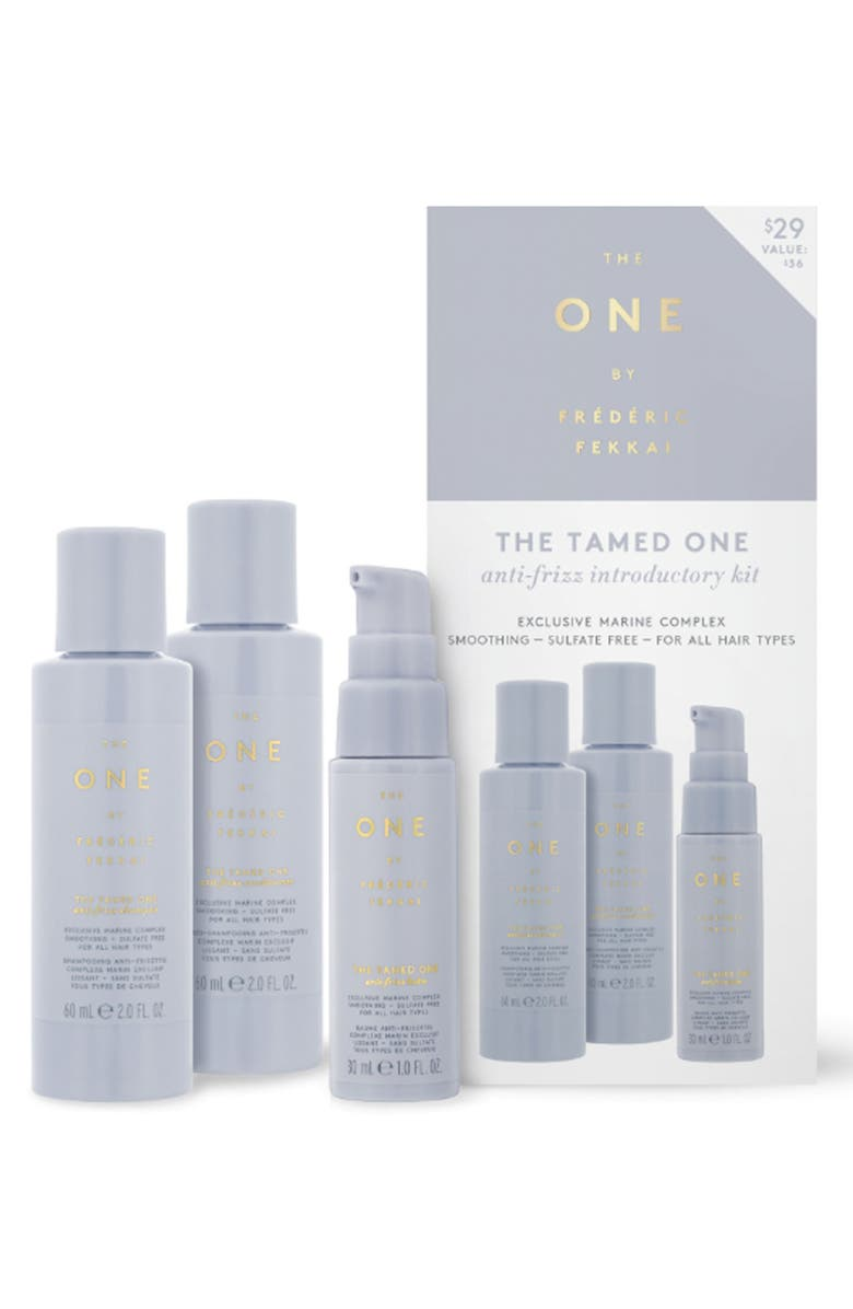 The One By Fr D Ric Fekkai The Tamed One Anti Frizz Introductory Kit 36 Value