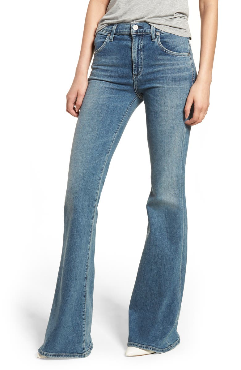 color brilliancy fashion styles exquisite style Chloe Super Flare Jeans