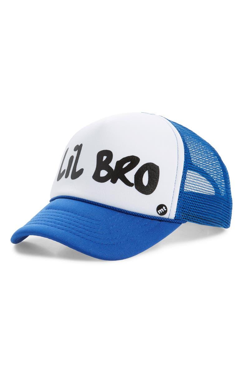 ad8495448 Mother Trucker & co. Lil Bro Trucker Hat (Kids)   Nordstrom