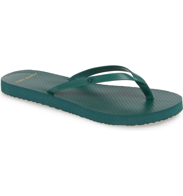 TORY BURCH Flip Flip, Main, color, MALACHITE/ MALACHITE