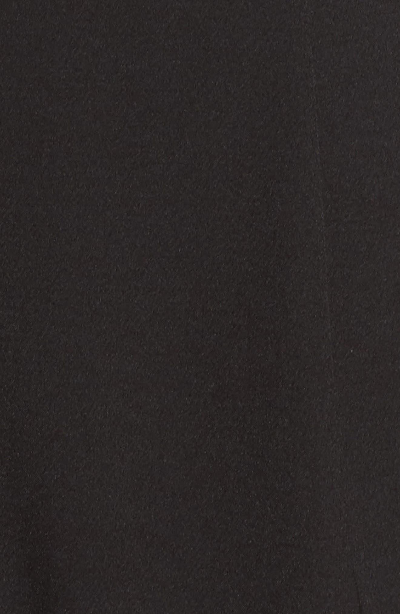 ,                             Strapless Slim Leg Jumpsuit,                             Alternate thumbnail 6, color,                             001