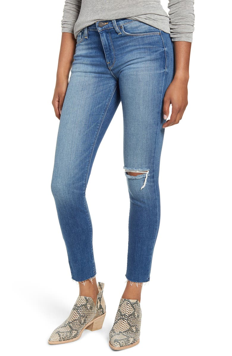 HUDSON JEANS Nico Ankle Super Skinny Jeans, Main, color, HAVERFORD