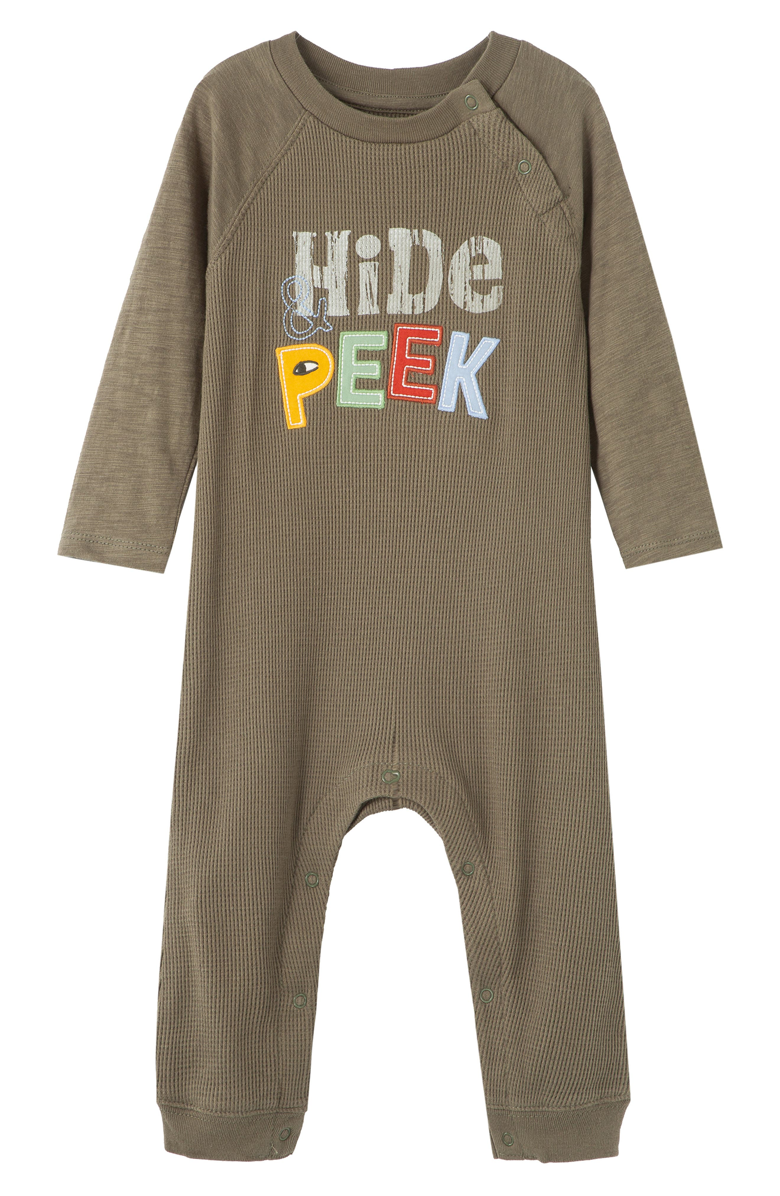 Image of PEEK ESSENTIALS Hide Peek Overalls