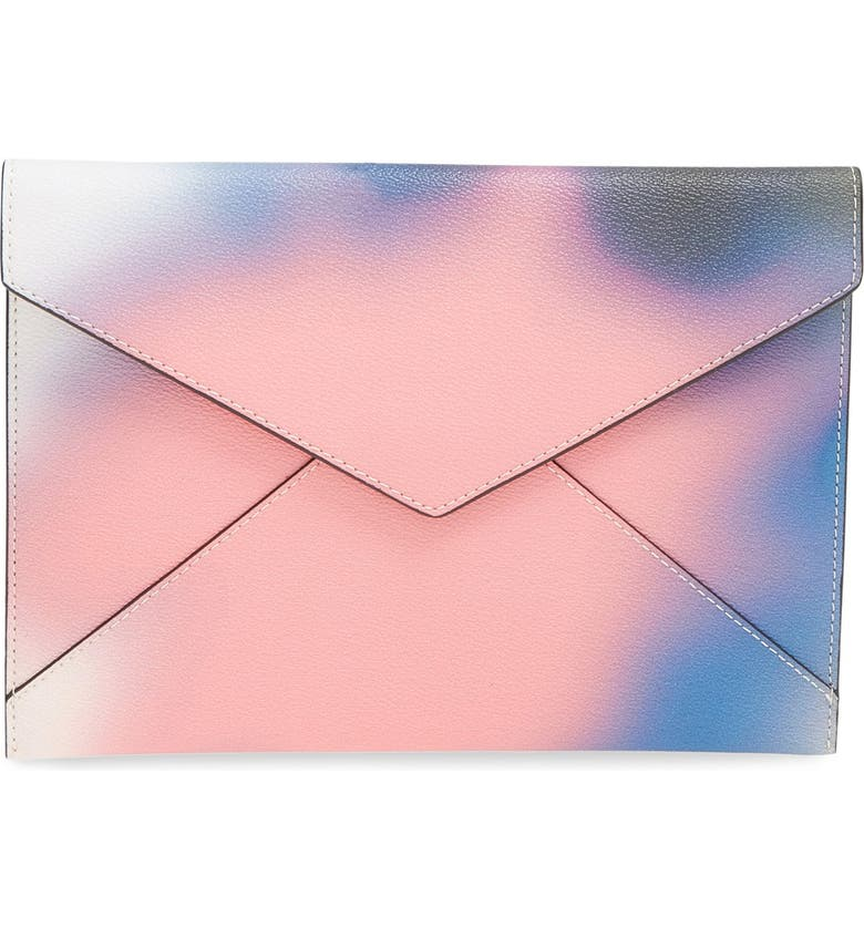 REBECCA MINKOFF 'Leo' Envelope Clutch, Main, color, 650