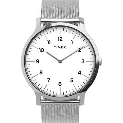 Timex Norway Mesh Strap Watch, 40mm