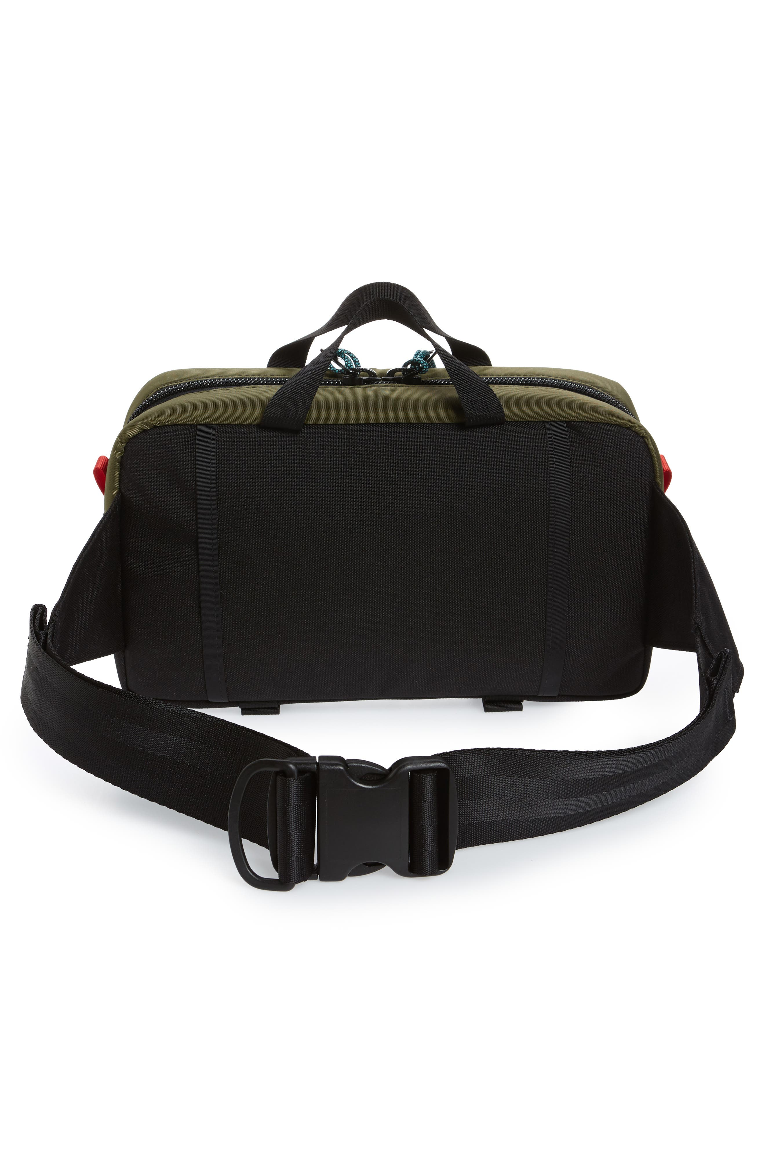 ,                             Quick Pack Belt Bag,                             Alternate thumbnail 6, color,                             OLIVE/ BLACK