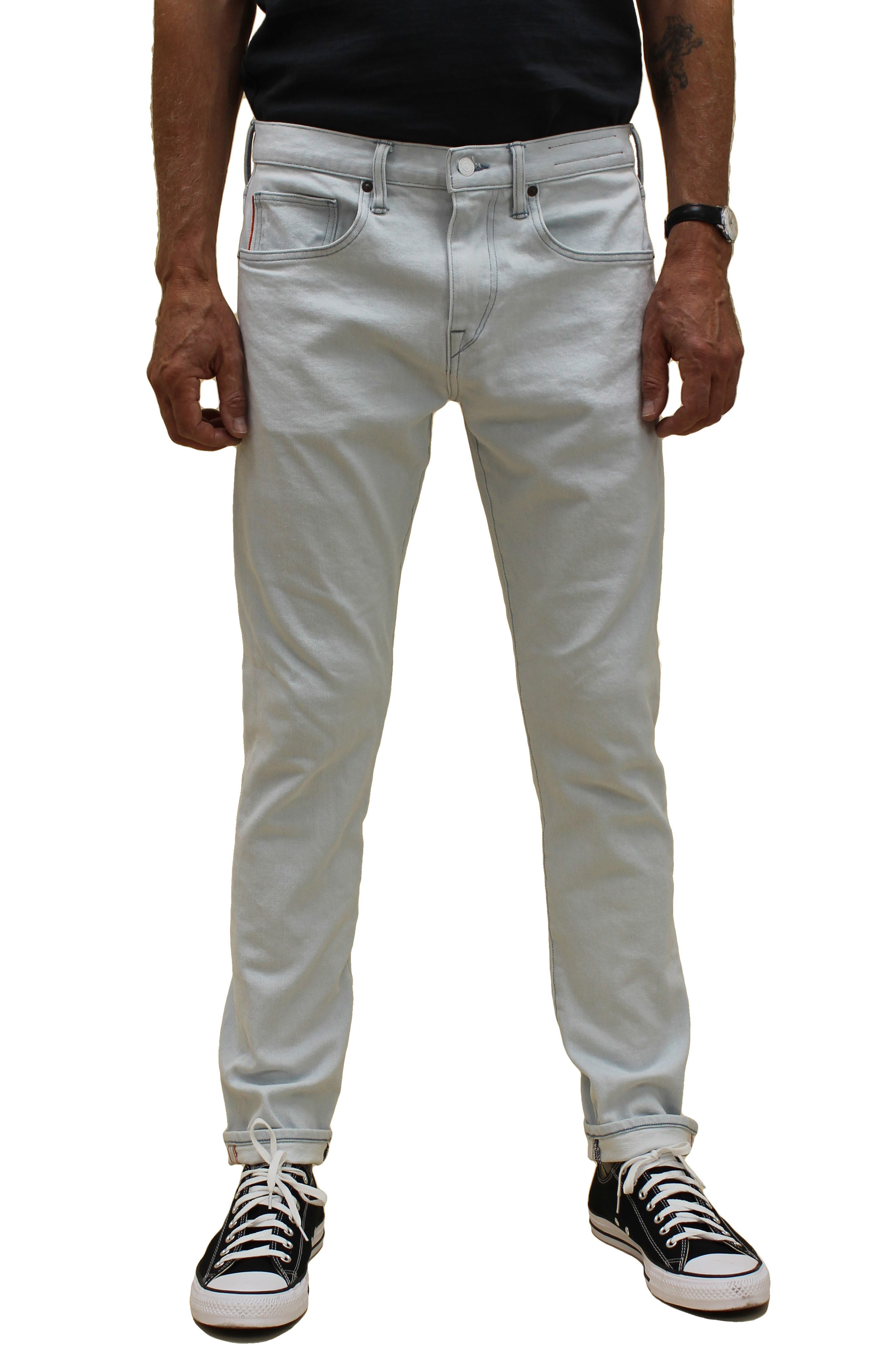 Tapered Fit Stretch Selvedge Jeans