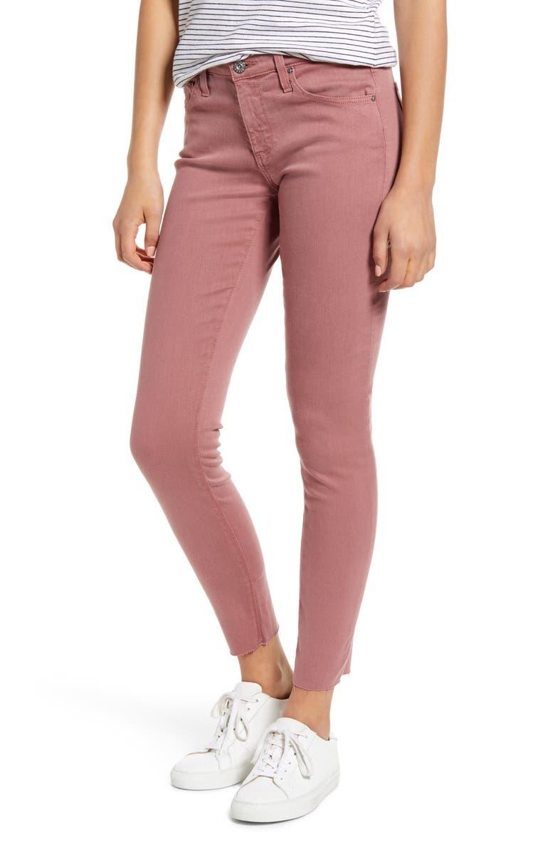 AG The Legging Ankle Super Skinny Jeans, Main, color, AUTUMN ROSE