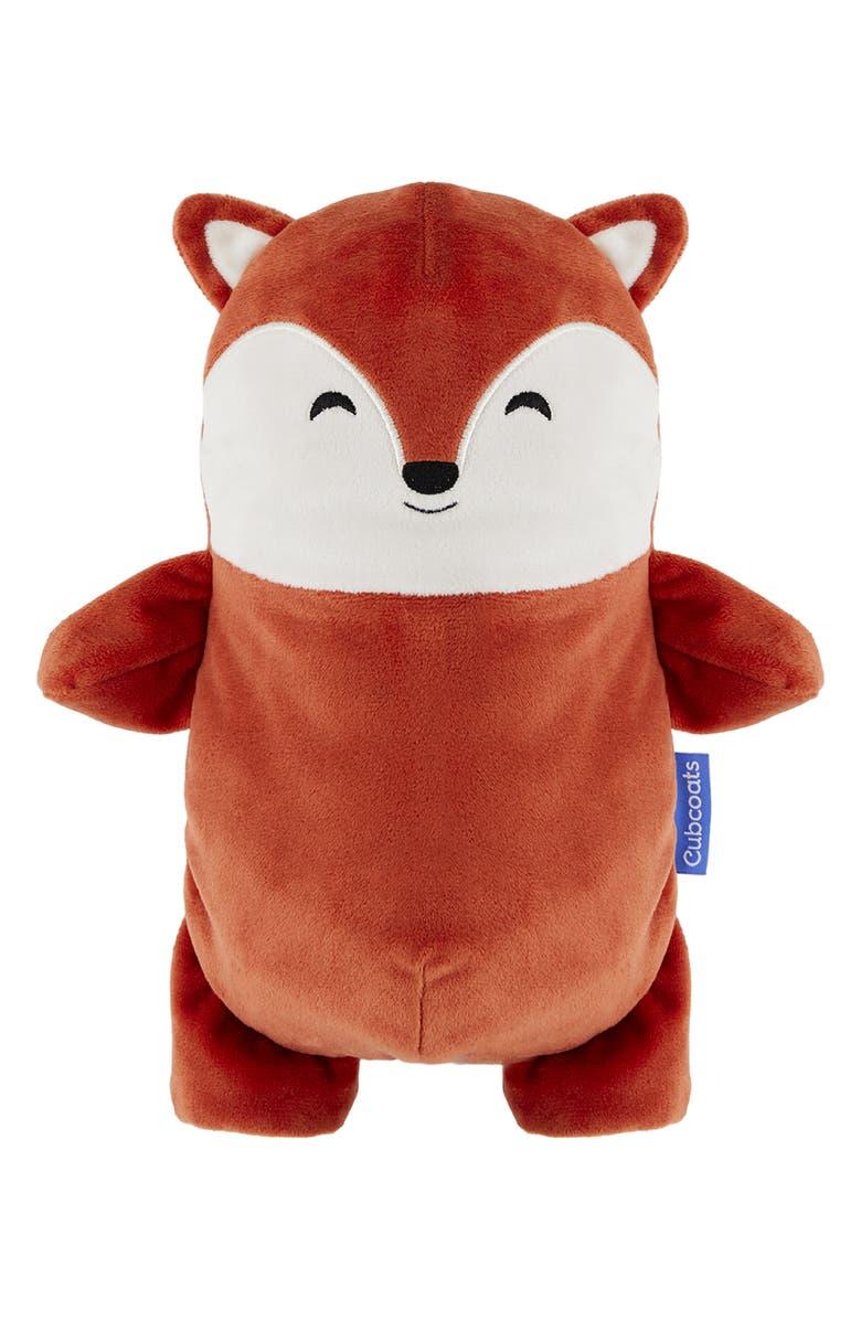 CUBCOATS Flynn 2-in-1 Stuffed Animal Hoodie, Main, color, BURNT ORANGE MARL MIX