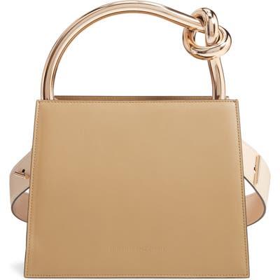 Benedetta Bruzziches Small Anais Calfskin Leather Top Handle Bag - Green