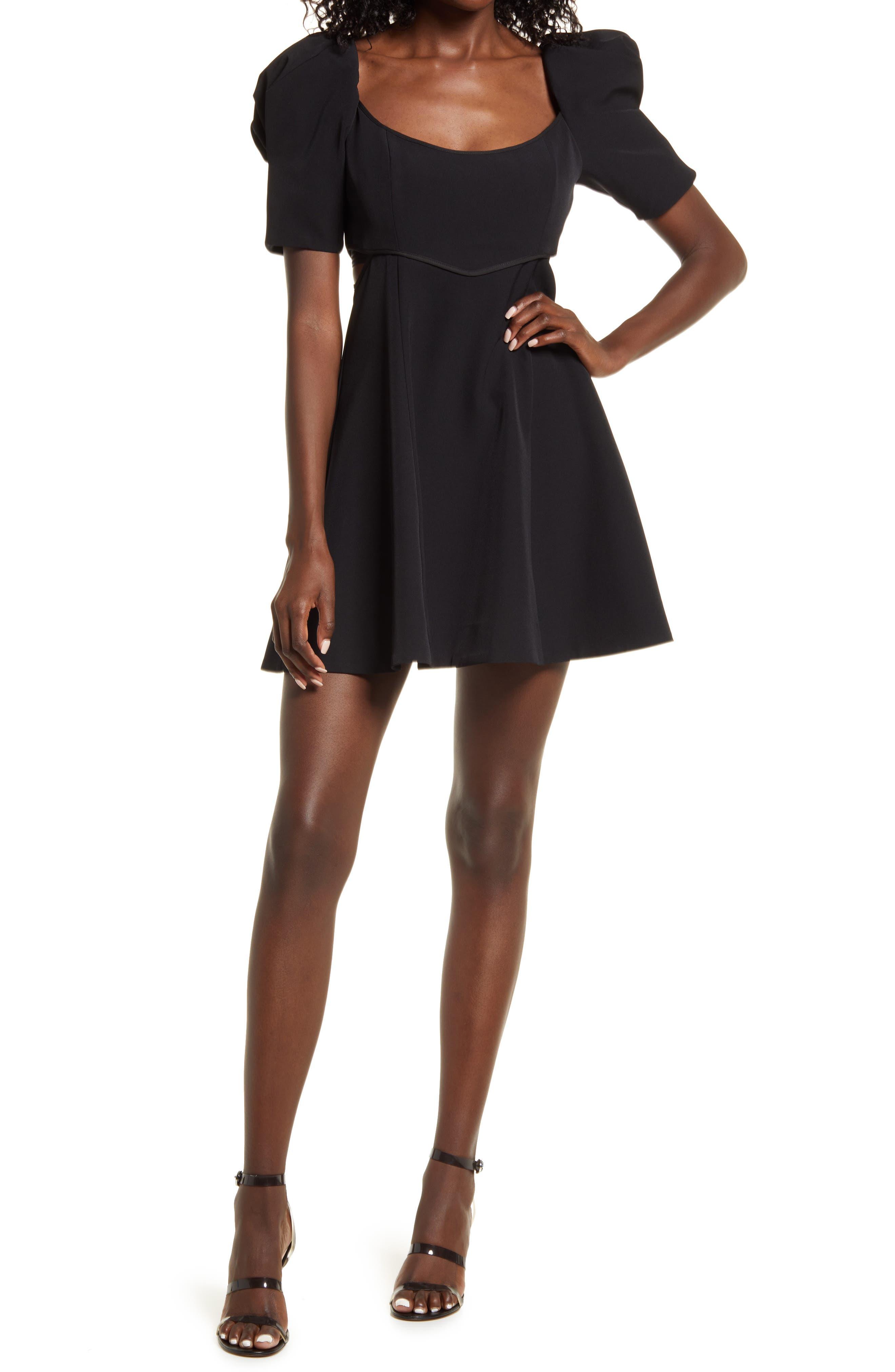 Whitney Fit & Flare Minidress