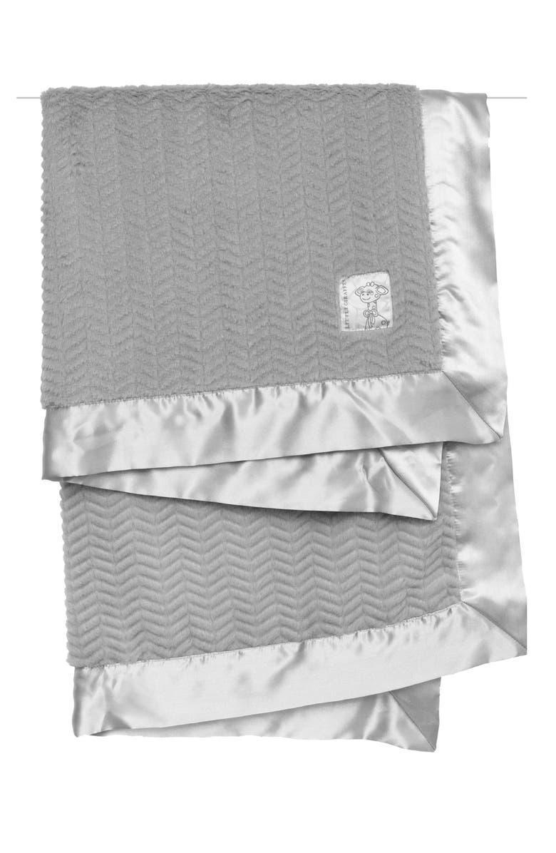 LITTLE GIRAFFE Posh Chevron Blanket, Main, color, 020
