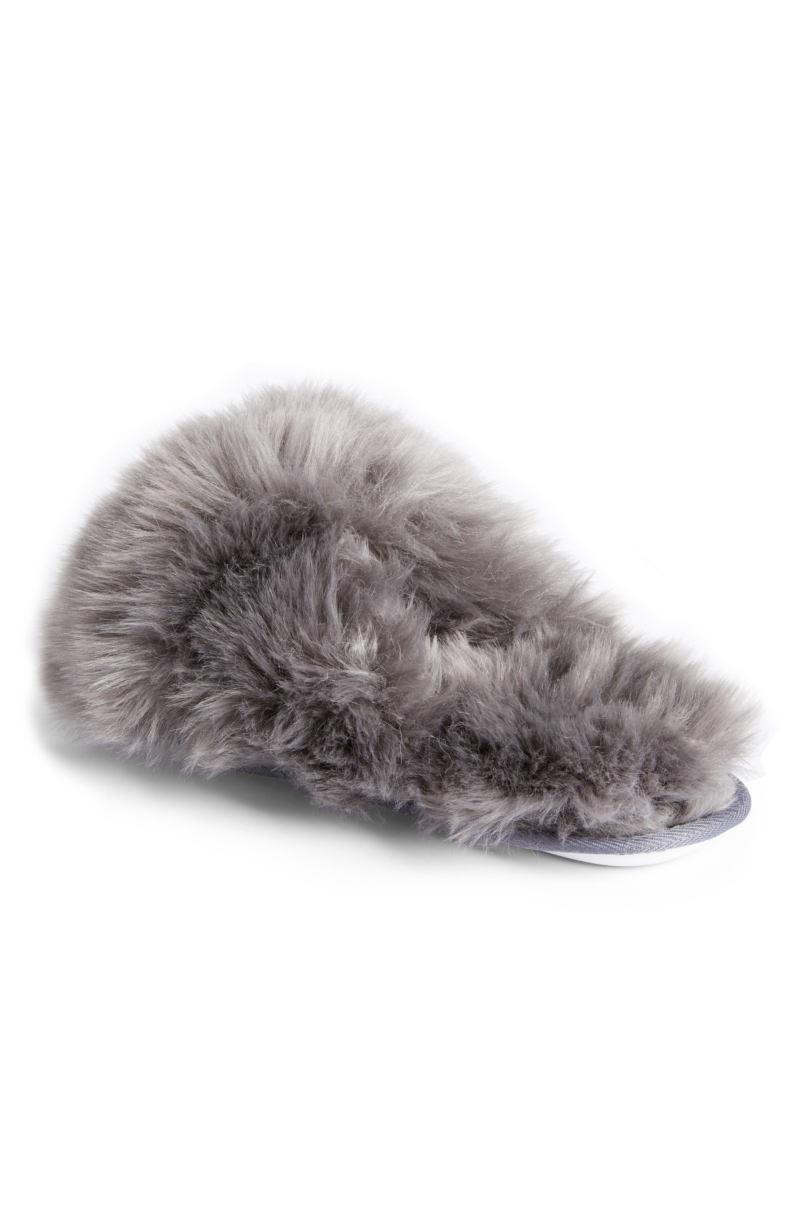 ,                             Cuddle Plush Faux Fur Scuff Slipper,                             Alternate thumbnail 9, color,                             021