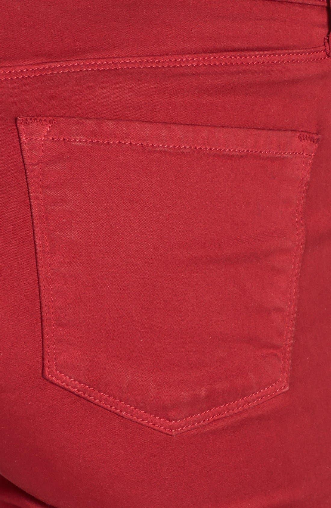 ,                             '485' Mid Rise Super Skinny Jeans,                             Alternate thumbnail 54, color,                             605