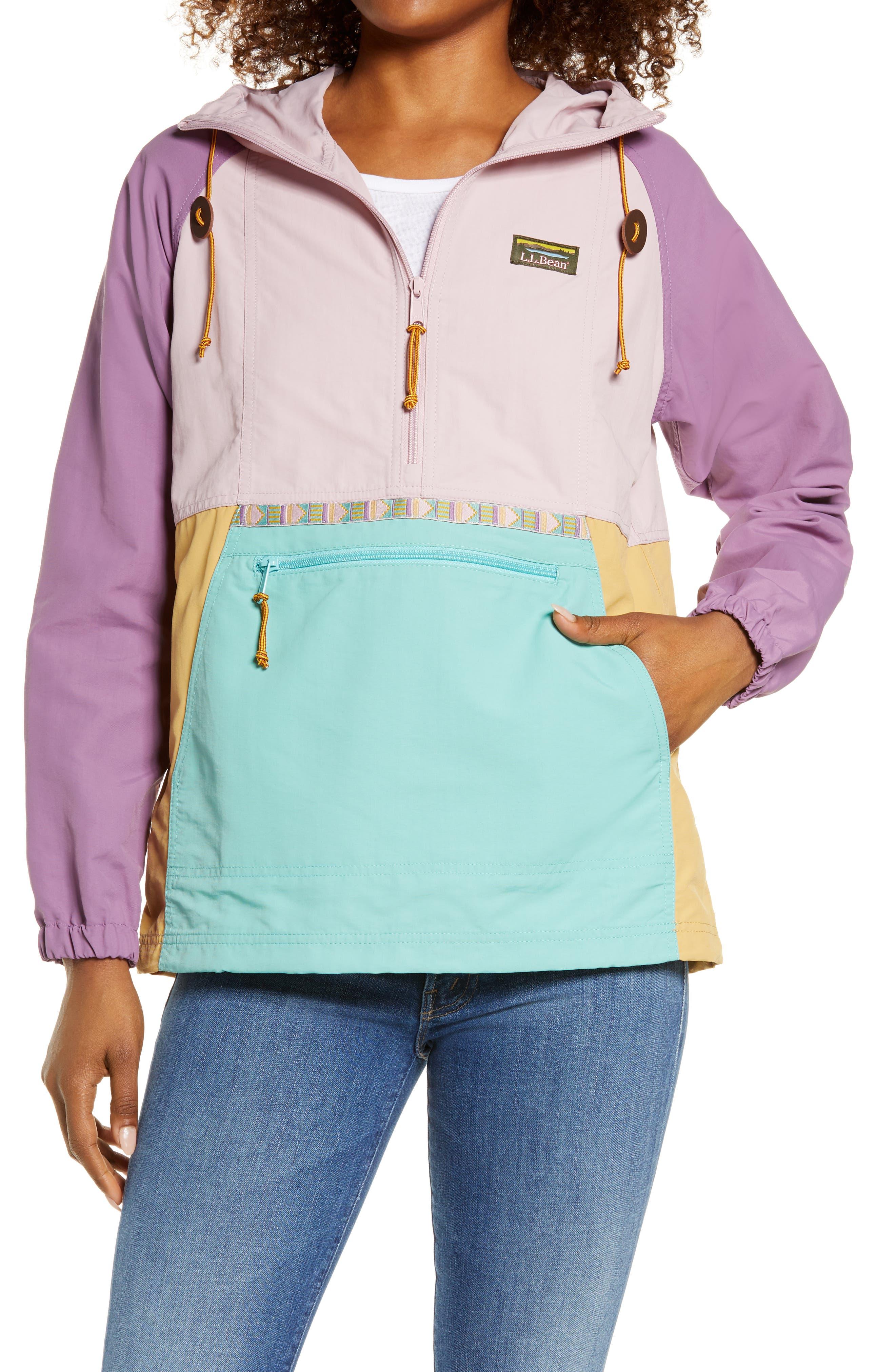 Mountain Classic Women's Packable Water Resistant Half Zip Jacket