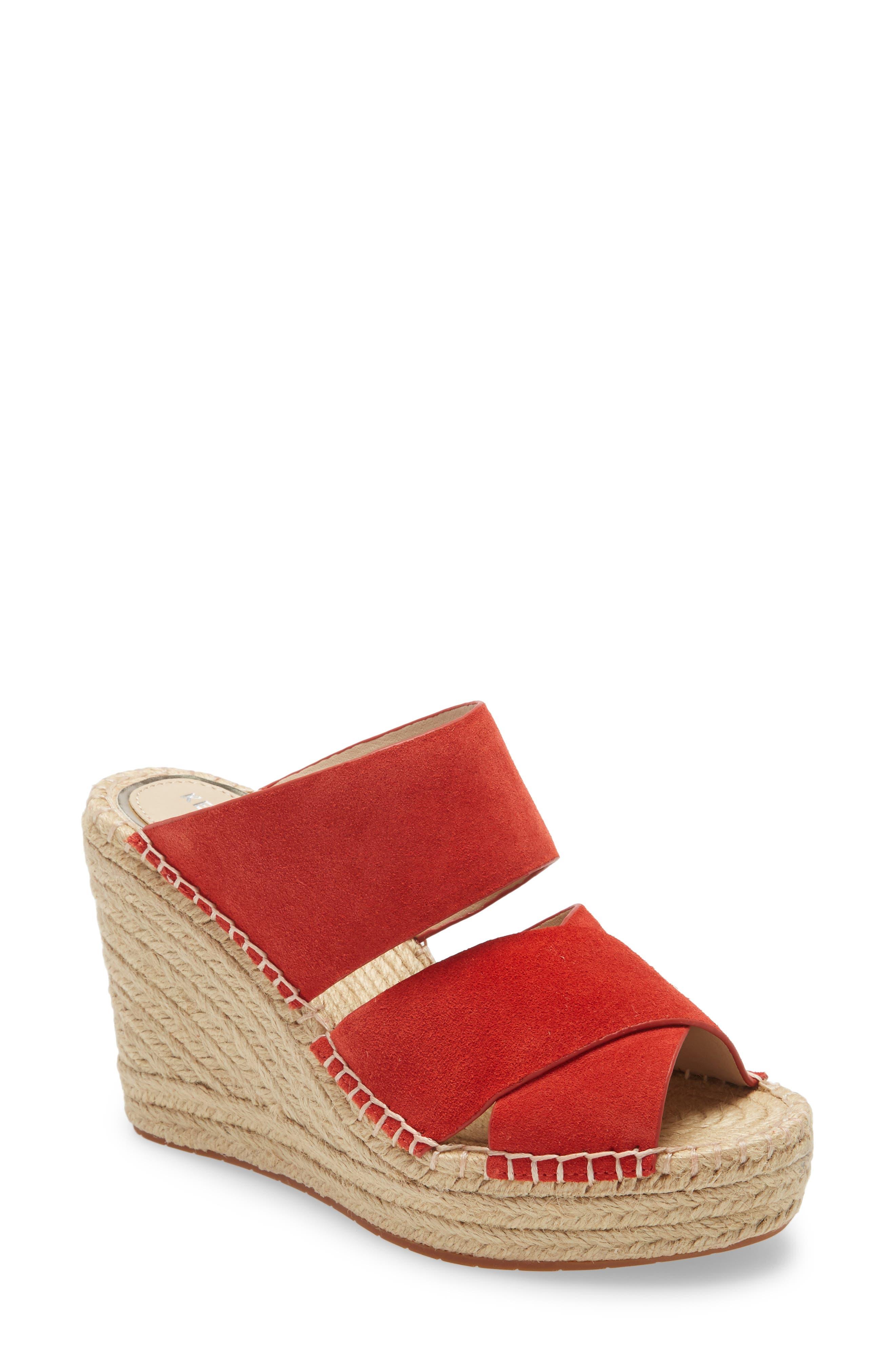 Olivia Wedge Slide Sandal