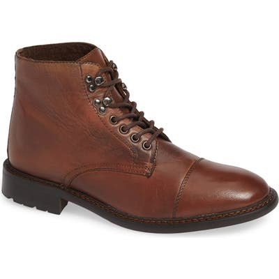 Jump Paxton Cap Toe Boot, Brown