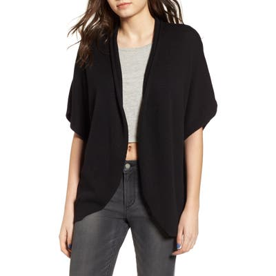 Leith Dolman Sleeve Cardigan, Black
