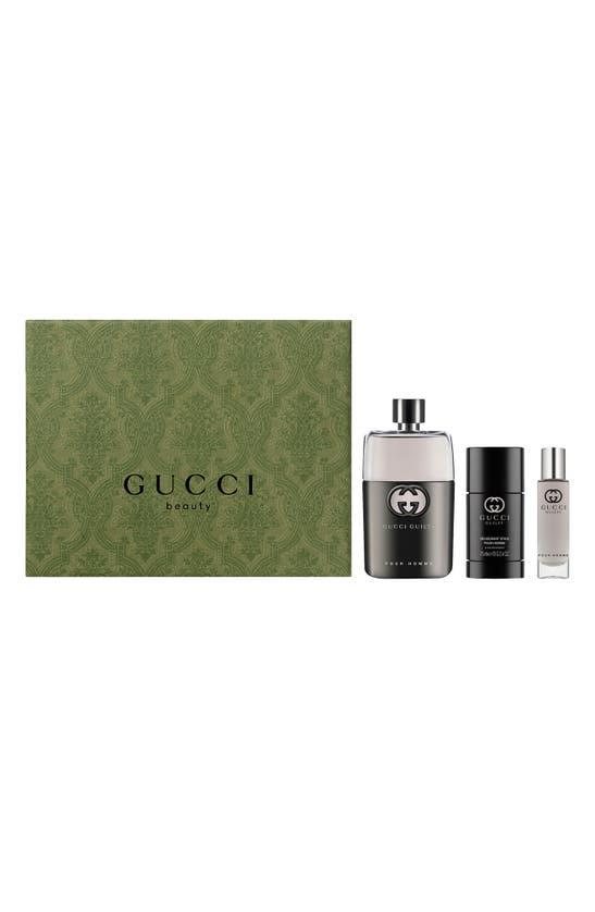 Gucci GUILTY POUR HOMME EAU DE TOILETTE SET (USD $157 VALUE)