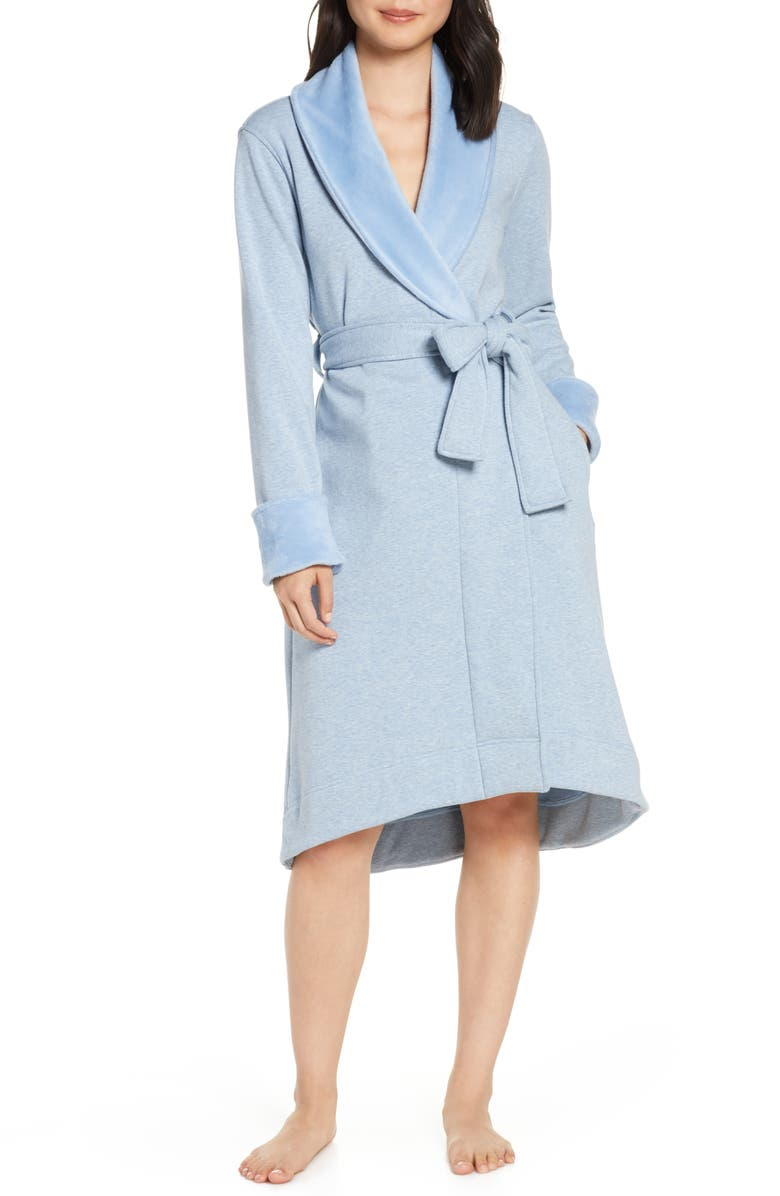 UGG<SUP>®</SUP> Duffield II Robe, Main, color, FRESH AIR HEATHER