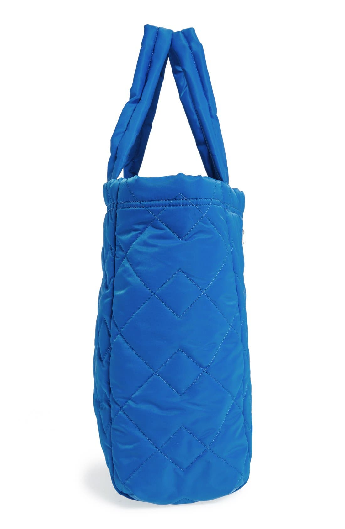 ,                             MARC BY MARC JACOBS 'Crosby' Quilted Nylon Tote,                             Alternate thumbnail 12, color,                             481