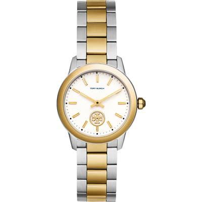 Tory Burch Collins Two-Tone Bracelet Watch, 32Mm