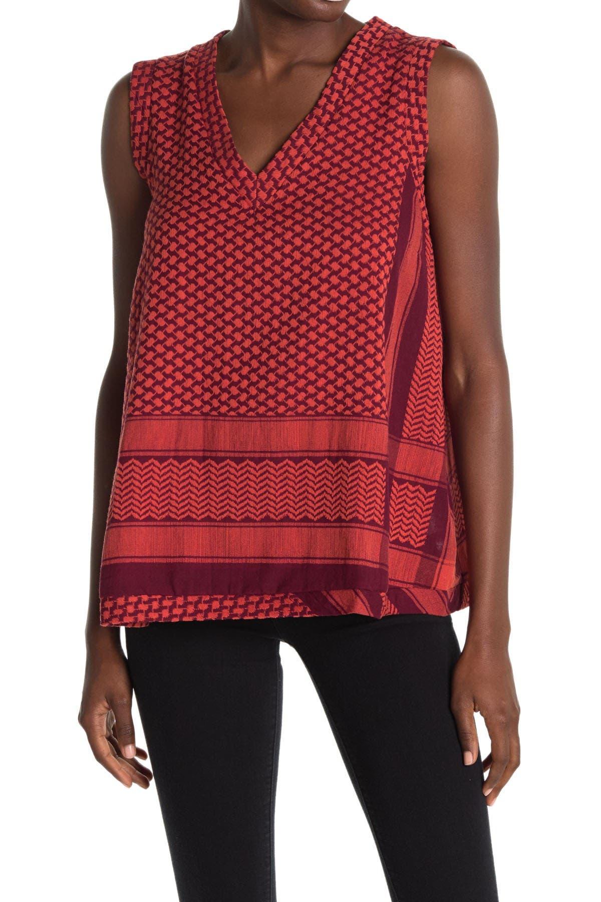 Image of Cecilie Copenhagen V-Neck Shirt