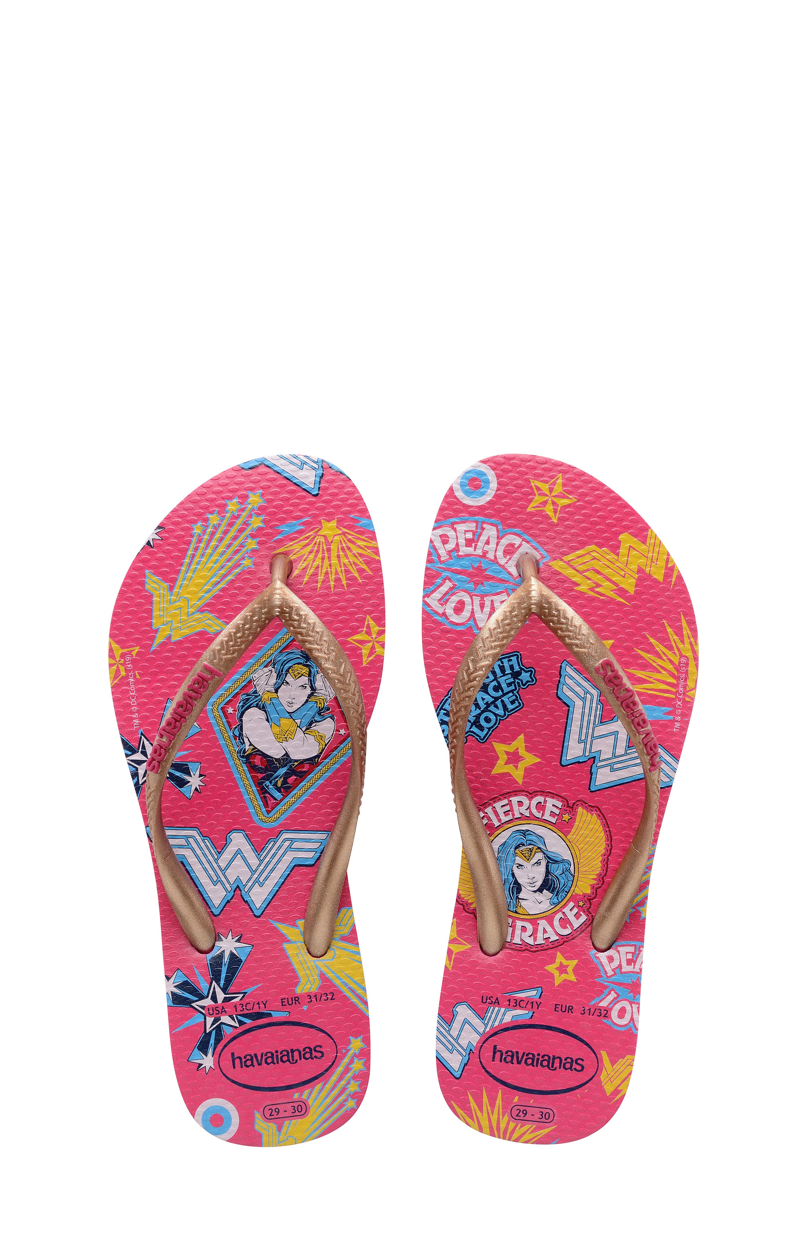 Image of Havaianas Slim Wonder Woman Flip Flop