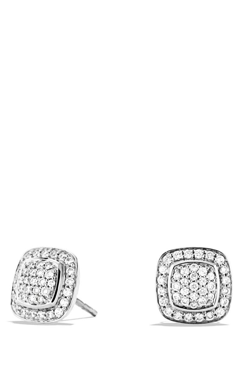 DAVID YURMAN 'Albion' Earrings with Diamonds, Main, color, DIAMOND