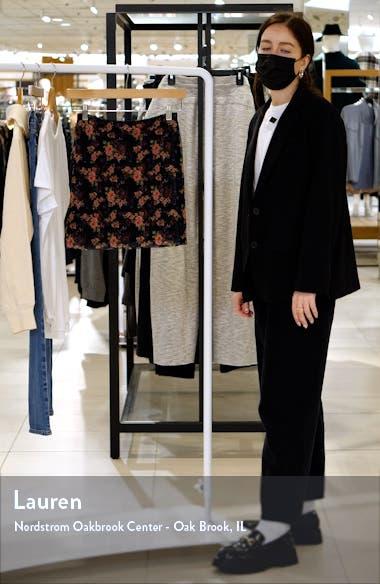 Floral Mesh Wrap Skirt, sales video thumbnail