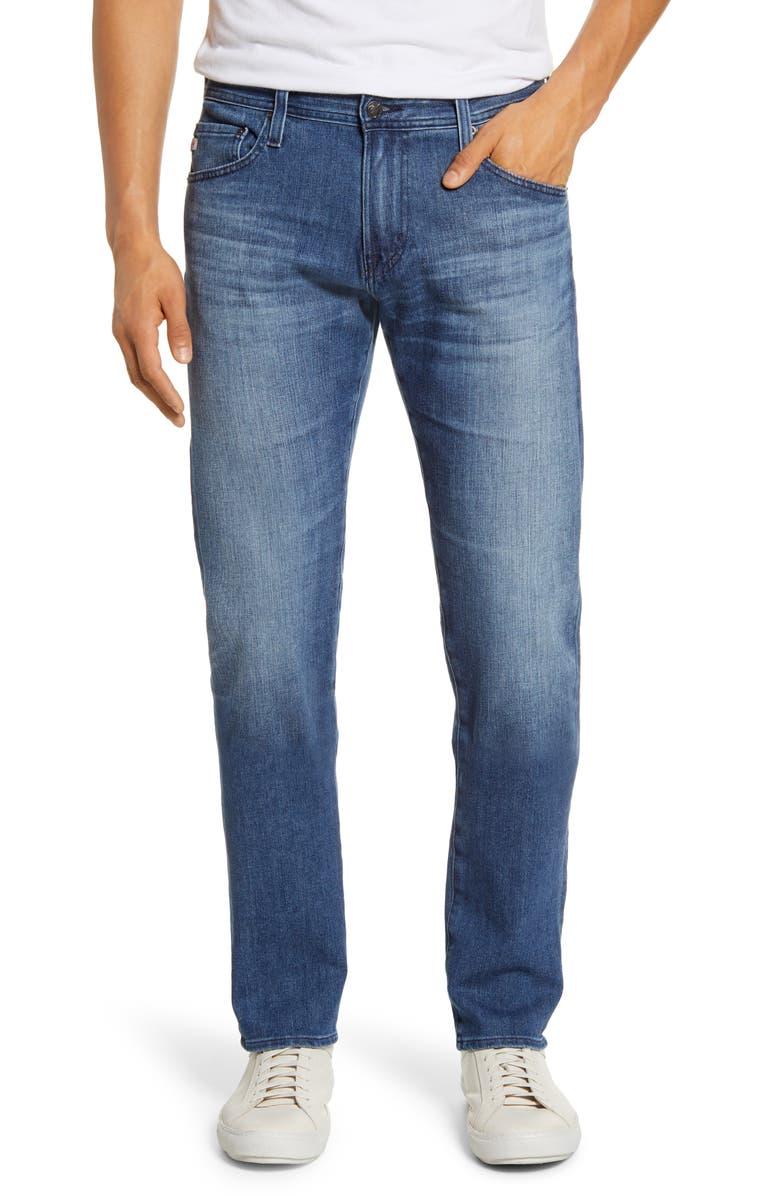 AG Tellis Slim Fit Jeans, Main, color, 15 YEARS MAYHEM