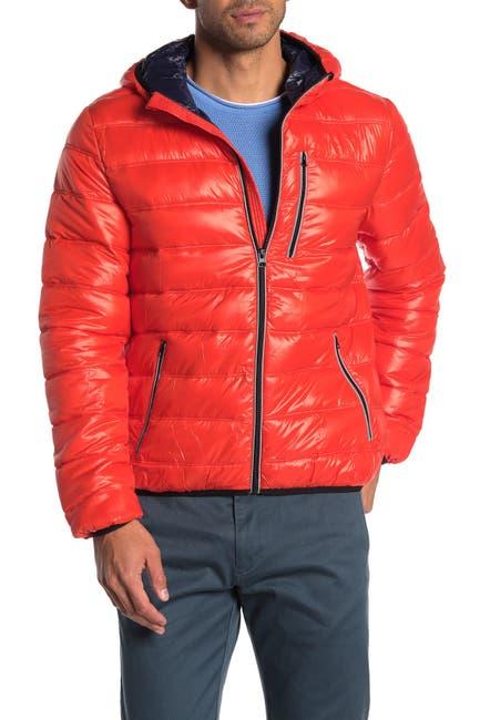 Image of NOIZE Lightweight Hooded Puffer Jacket
