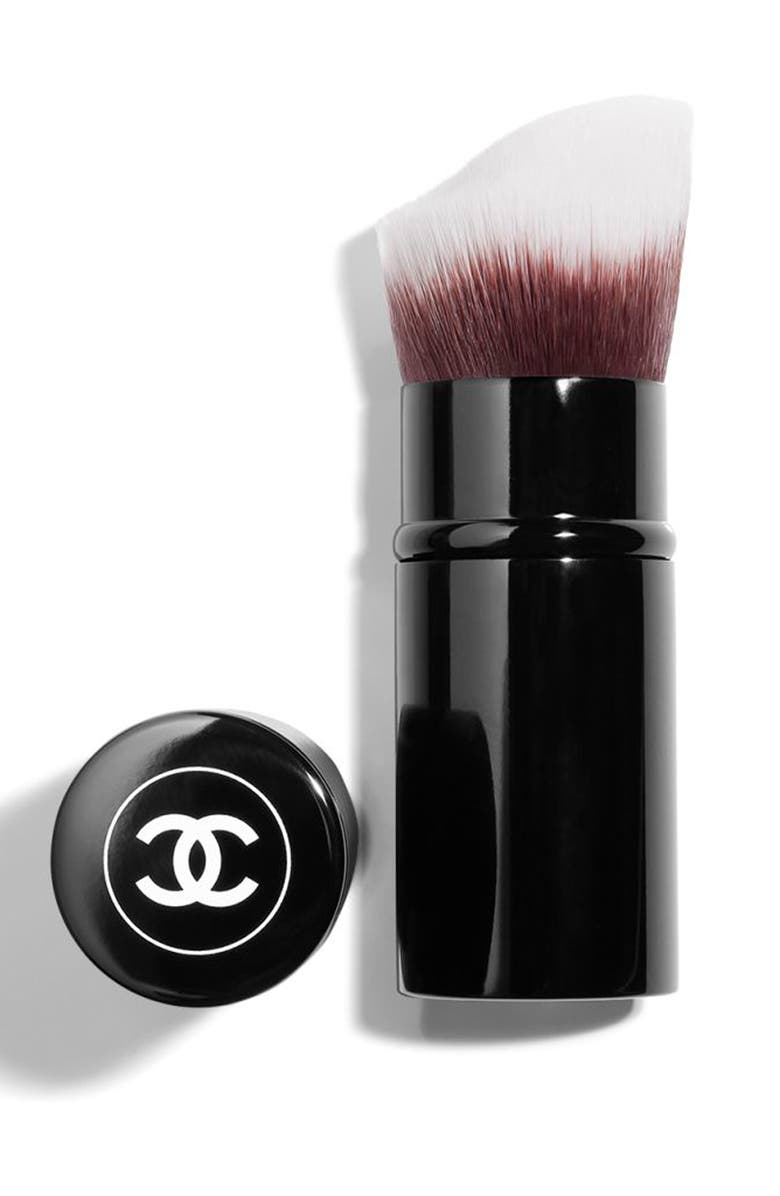 CHANEL RETRACTABLE FOUNDATION Brush, Main, color, 000