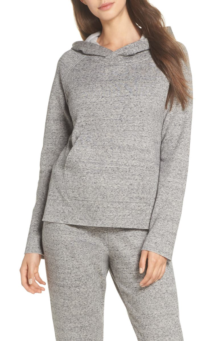 UGG<SUP>®</SUP> Pilar Hoodie, Main, color, GREY HEATHER