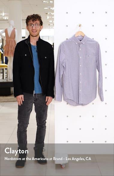 Tucker Regular Fit Plaid Stretch Shirt, sales video thumbnail