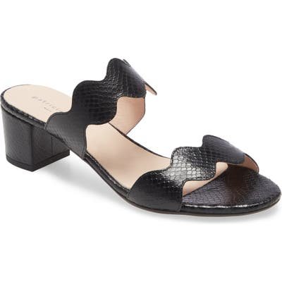 Patricia Green Palm Beach Slide Sandal, Black