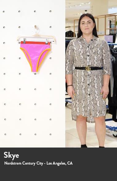 French Cut High Waist Bikini Bottoms, sales video thumbnail