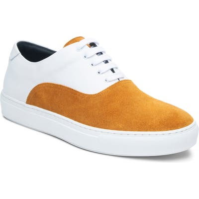 Ankari Floruss Two-Tone Sneaker- Yellow