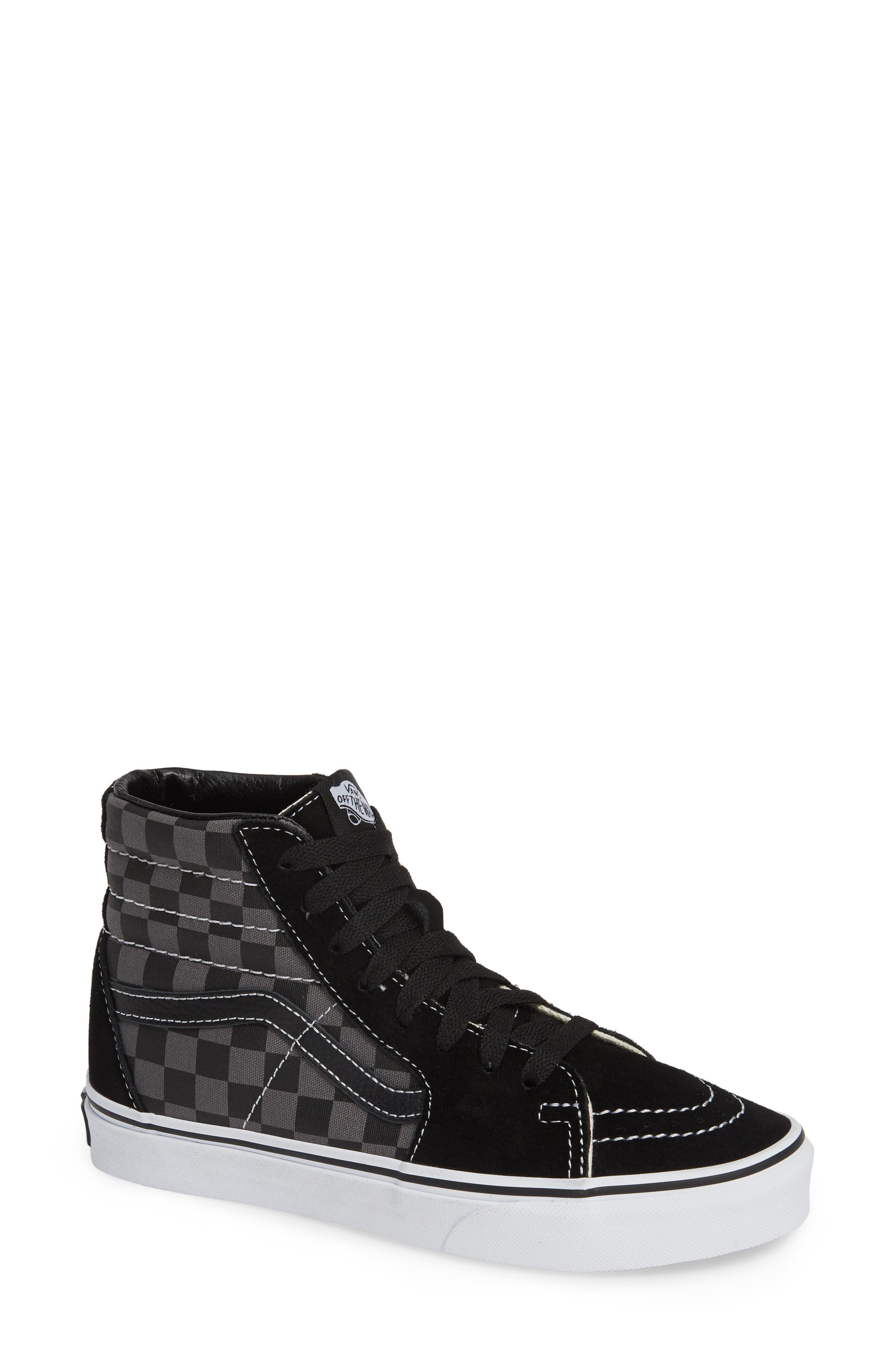 ,                             Sk8-Hi Checker Sneaker,                             Main thumbnail 7, color,                             007