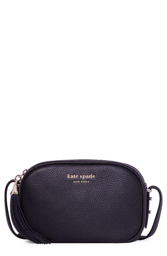 Kate Spade Women's Medium Annabel Leather Camera Bag In Black