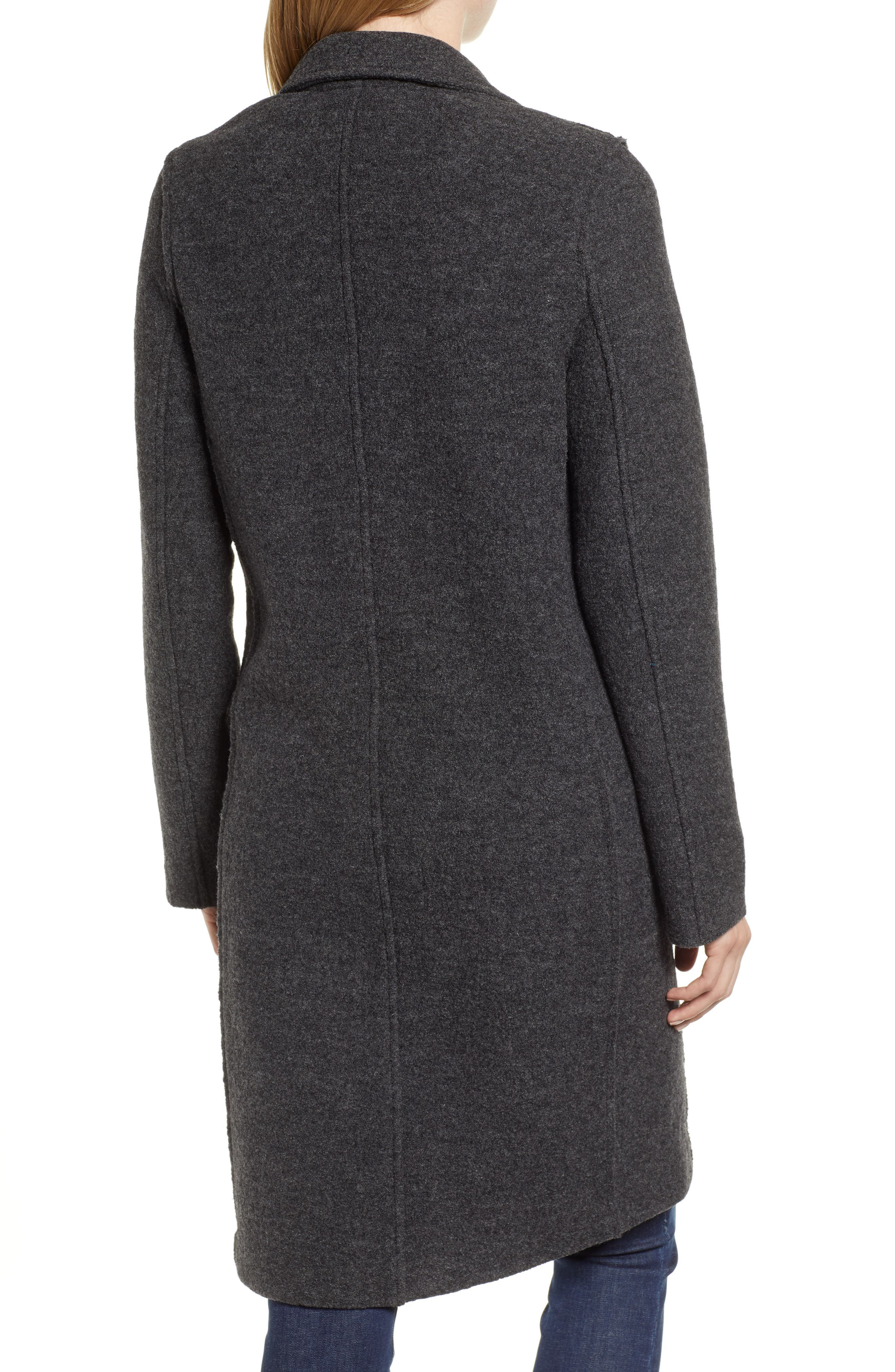 ,                             Daphne Boiled Wool Topcoat,                             Alternate thumbnail 9, color,                             022