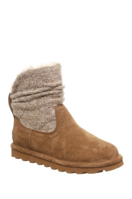 Image of BEARPAW Virginia Faux Fur Knit Boot